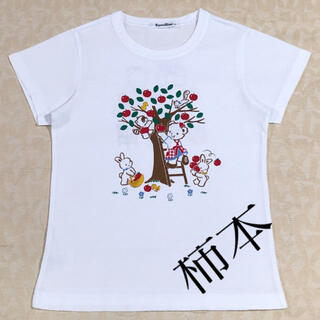 ファミリア(familiar)のfamiliar       お話しTシャツ    size 120cm(Tシャツ/カットソー)