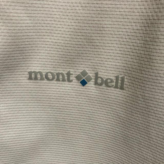 mont bell(モンベル)のモンベルサイクリングウェア グレー スポーツ/アウトドアの自転車(ウエア)の商品写真