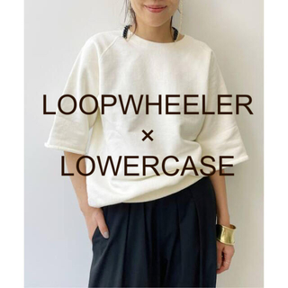 L'Appartement DEUXIEME CLASSE - LOOPWHEELER LOWERCASE Half Sleeve Sweat