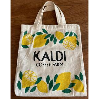 カルディ(KALDI)のカルディ レモントートバッグ エコバッグ(トートバッグ)