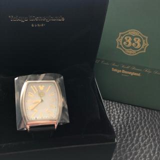 ディズニー(Disney)のディズニー クラブ33 ソーラー時計 メンズ 新品(腕時計(アナログ))