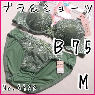 ブラ&ショーツセットB75          No.8923