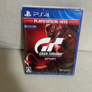 PlayStation - 新品未開封 グランツーリスモスポーツ ps4