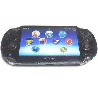 PlayStation Vita - 【送料無料】PlayStation®Vita クリスタル・ブラック 3GWiFi