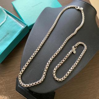 Tiffany & Co. - Tiffanyヴィンテージベネチアンネックレス&ブレスレッド