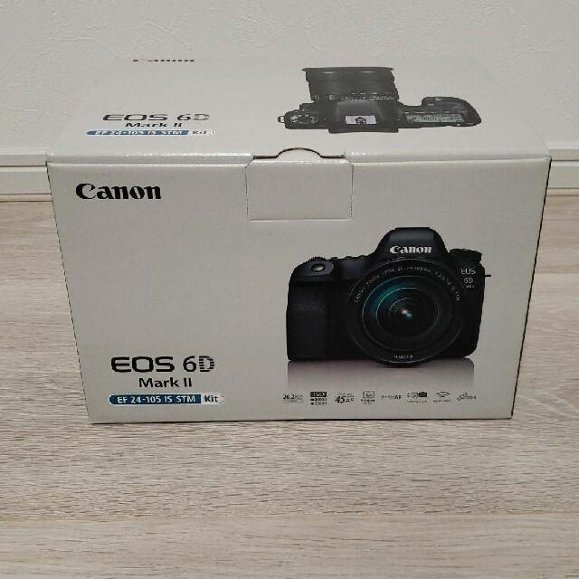 Canon(キヤノン)のCanon EOS6D mk2 レンズキット 新品未使用 スマホ/家電/カメラのカメラ(デジタル一眼)の商品写真