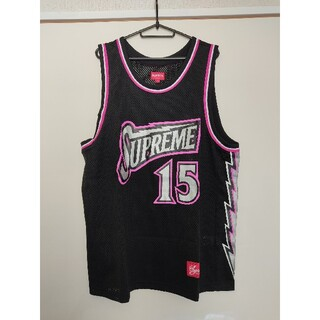 シュプリーム(Supreme)のsupreme bolt basketball jerseyシュプバスケシャツ(タンクトップ)
