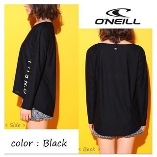 オニール(O'NEILL)のO'Neill レディス 水陸両用 UVラッシュ Tシャツ 黒 サイズ L(サーフィン)