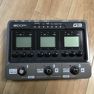 ズーム(Zoom)のZOOM G3 ズーム マルチエフェクター ギター アンプ(エフェクター)