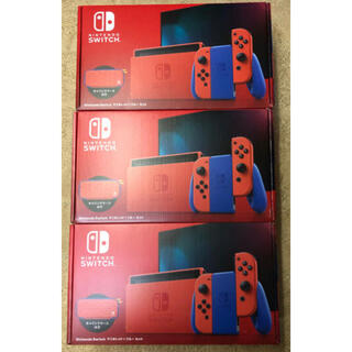 Nintendo Switch - Nintendo Switch マリオレッド×ブルー セット 3台