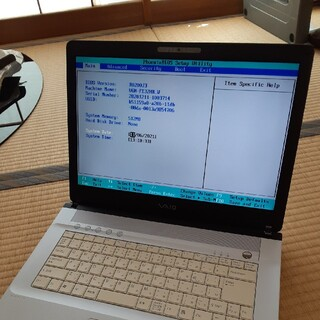 SONY - ジャンク品。VAIOノートパソコン