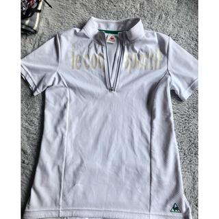 ルコックスポルティフ(le coq sportif)のルコック 半袖 白 自転車用(Tシャツ(半袖/袖なし))