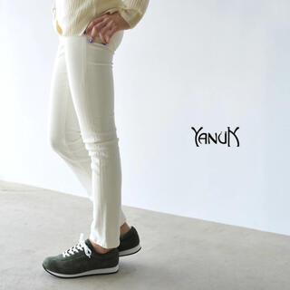 YANUK - ヤヌーク YANUK デニム ジーンズ 白 ホワイト Kay
