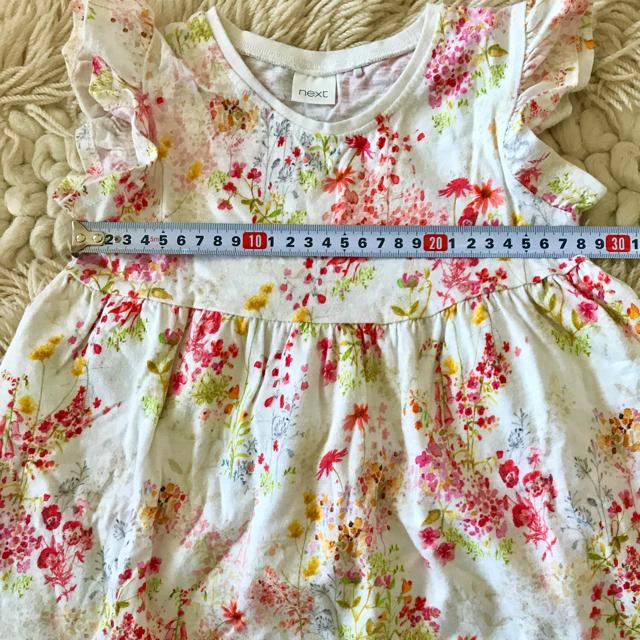 NEXT(ネクスト)のワンピース 104cm キッズ/ベビー/マタニティのキッズ服女の子用(90cm~)(ワンピース)の商品写真