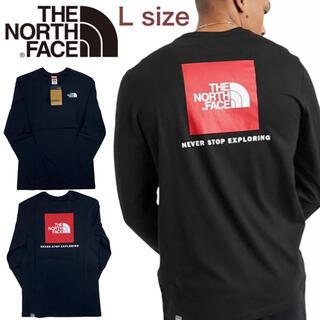 THE NORTH FACE - ノースフェイス ロンT レッドボックス  NF0A493L 長袖 Tシャツ L