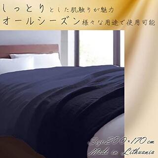 【新品】涼感 マルチカバーソファーカバー 200×170cm ブルー リトアニア(ソファカバー)