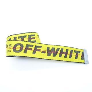 オフホワイト(OFF-WHITE)のOFF-WHITE INDUSTRIAL BELT [YELLOW] 大名(ベルト)