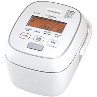 象印 - 【新品未使用】象印 圧力IH炊飯器 5.5合 炎舞炊き粉雪 NW-PS10-WZ