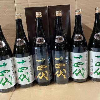 十四代 純米吟醸 山田錦4本 純米大吟醸 極上諸白2本(日本酒)