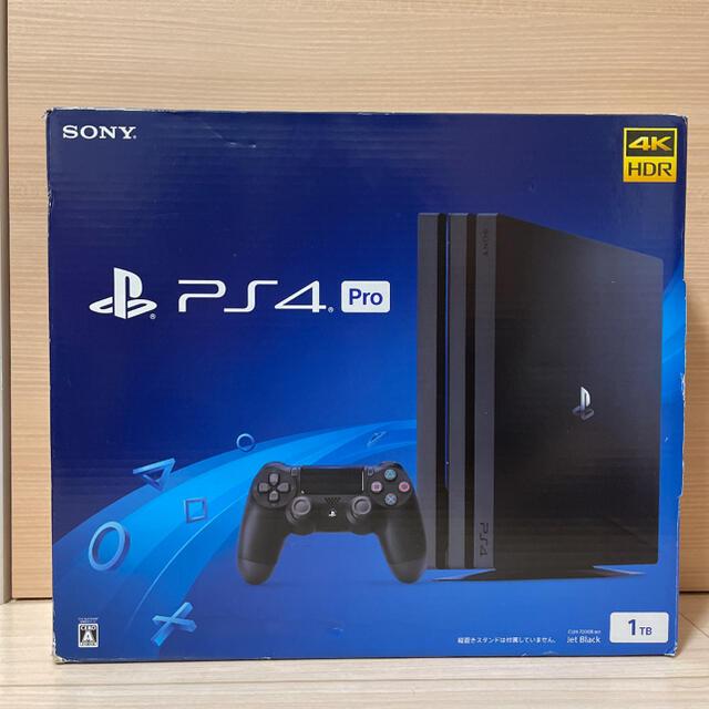 PlayStation4(プレイステーション4)のCUH-7200BB01 PlayStation4 Pro ブラック 1TB エンタメ/ホビーのゲームソフト/ゲーム機本体(家庭用ゲーム機本体)の商品写真