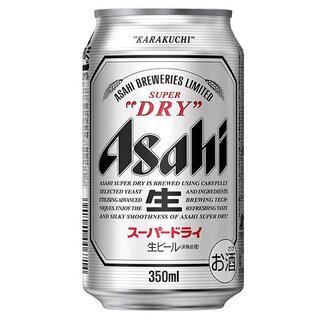 アサヒ スーパードライ 350ml×24本  1ケース(ビール)