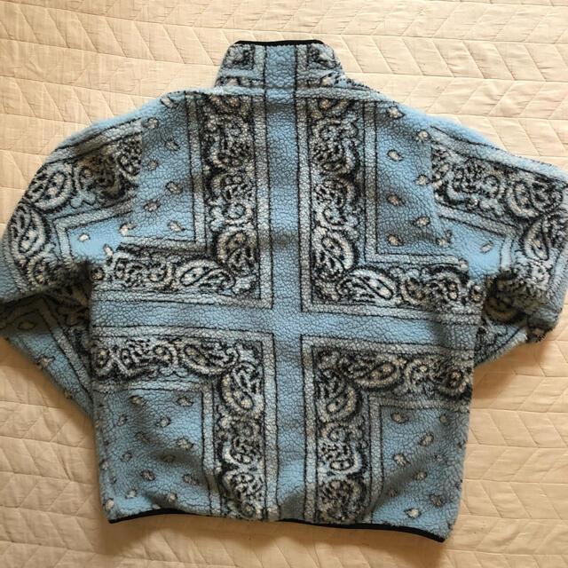 Supreme(シュプリーム)のsupreme  Bandana Fleece Jacket バンダナ メンズのジャケット/アウター(その他)の商品写真