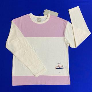 ディラッシュ(DILASH)のDILASH ラベンダーカラー切り替えロンT 130cm(Tシャツ/カットソー)