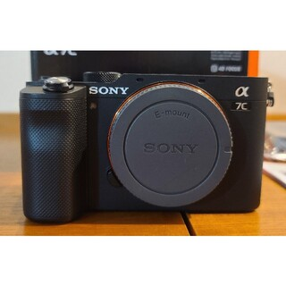 SONY - 7%オフクーポン SONY α7C ブラック