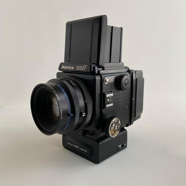 USTMamiya(マミヤ)のMamiya RZ67 レンズ3本セット+α スマホ/家電/カメラのカメラ(フィルムカメラ)の商品写真