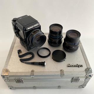 マミヤ(USTMamiya)のMamiya RZ67 レンズ3本セット+α(フィルムカメラ)