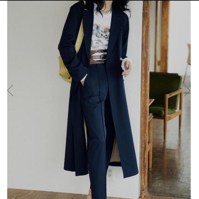 Ameri VINTAGE(アメリヴィンテージ)のAMERI vintage★MANNISH BLAZER COAT レディースのジャケット/アウター(ロングコート)の商品写真