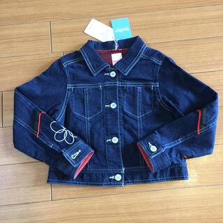 ファミリア(familiar)の新品 未使用 ファミリア Gジャン デニムジャケット 130 女の子 春(ジャケット/上着)
