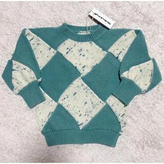 Misha&Puff☆Confetti Entrelac Sweater6-7