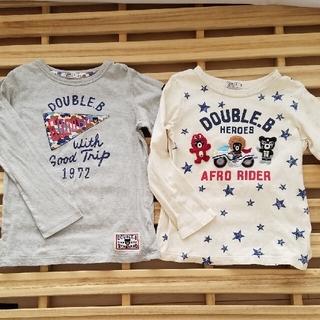 ダブルビー(DOUBLE.B)のダブルビー ロンT ミキハウス(Tシャツ/カットソー)