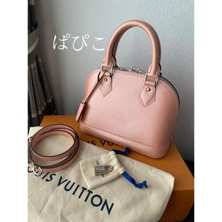 LOUIS VUITTON - M41327  アルマ BB ルイヴィトン  ショルダーバッグ ピンク