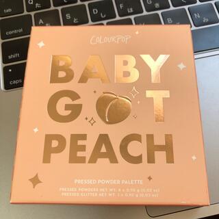 カラーポップ(colourpop)のcolourpop baby got peach(アイシャドウ)
