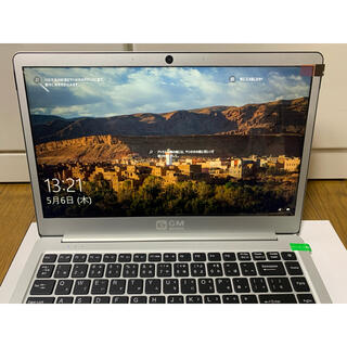 GLM 超軽量PC ノートパソコン (14型) N3450