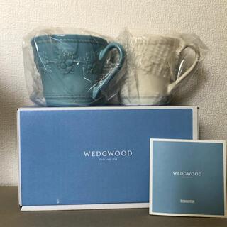 WEDGWOOD - wedgewood ウエッジウッド ペア マグカップ