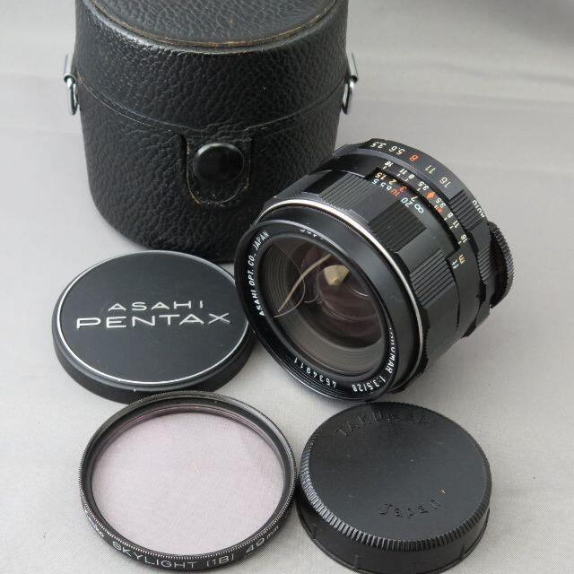 PENTAX(ペンタックス)のペンタックス SMC TAKUMAR28mm F3.5 スマホ/家電/カメラのカメラ(レンズ(単焦点))の商品写真