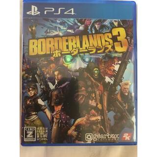 PlayStation4 - ボーダーランズ3 PS4 ❗️値下げ不可❗️