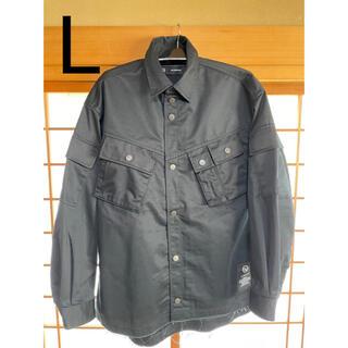 UNDERCOVER - 【UNDERCOVER×GU】ミリタリージャケット ブラック L 新品