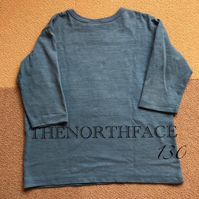 THE NORTH FACE(ザノースフェイス)のノースフェイス シャツ カットソー 130 キッズ/ベビー/マタニティのキッズ服男の子用(90cm~)(Tシャツ/カットソー)の商品写真