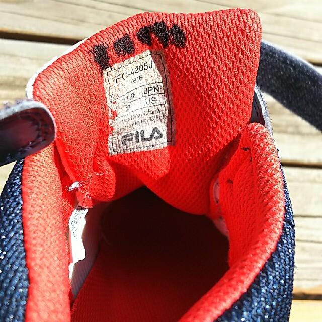 FILA(フィラ)のまぁー様専用 FILA キッズ シューズ 21cm キッズ/ベビー/マタニティのキッズ靴/シューズ(15cm~)(スニーカー)の商品写真