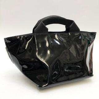 エルベシャプリエ(Herve Chapelier)の ハンドバッグ ナイロンエナメル ノワール(ハンドバッグ)