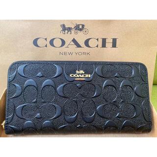 コーチ(COACH)の新品未使用 COACH コーチ 長財布 ブラック(長財布)
