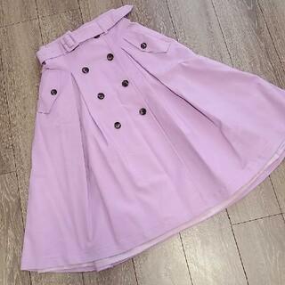 アンドクチュール(And Couture)の【アンドクチュール】トレンチ風スカート(ひざ丈スカート)