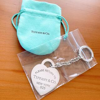 ティファニー(Tiffany & Co.)のハート タグ キー リング(キーホルダー)