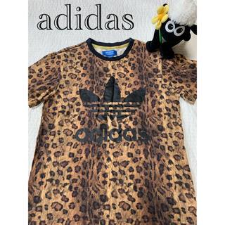 adidas - adidas Tシャツ ヒョウ柄
