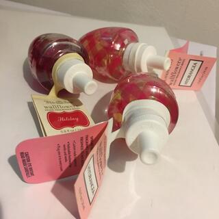 バスアンドボディーワークス(Bath & Body Works)の新品未使用未開封3本セットBath and Bodyworksホームフレグランス(アロマポット/アロマランプ/芳香器)