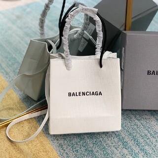 Balenciaga - BALENCIAGAバレンシアガ SHOPPING  TOTE バッグ 白